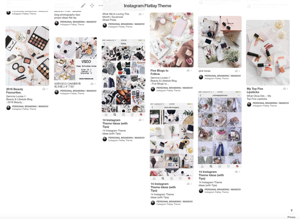 how to make the perfect flat lay graphic for social media and instagram feeds Jade Hicks