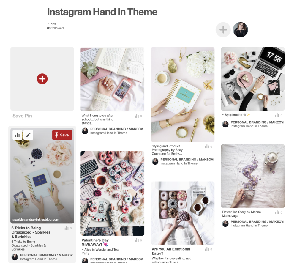 how to make the perfect hands-in graphic for social media and instagram feeds Jade Hicks