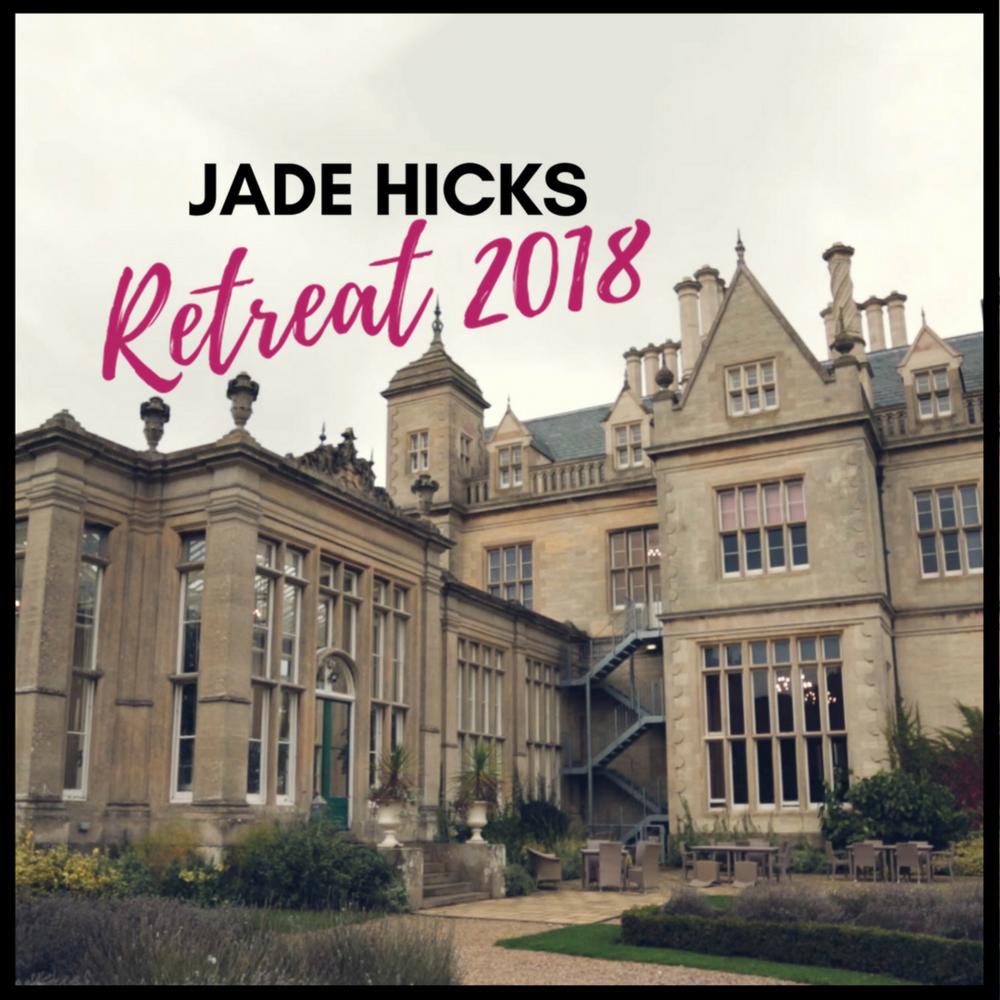 branding retreat getaway course jade hicks brand training 2018 uk