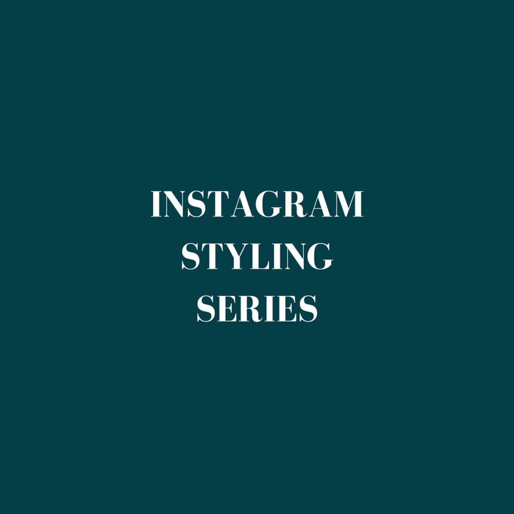 Instagram Styling Training Series Course Jade hicks Photography 2018