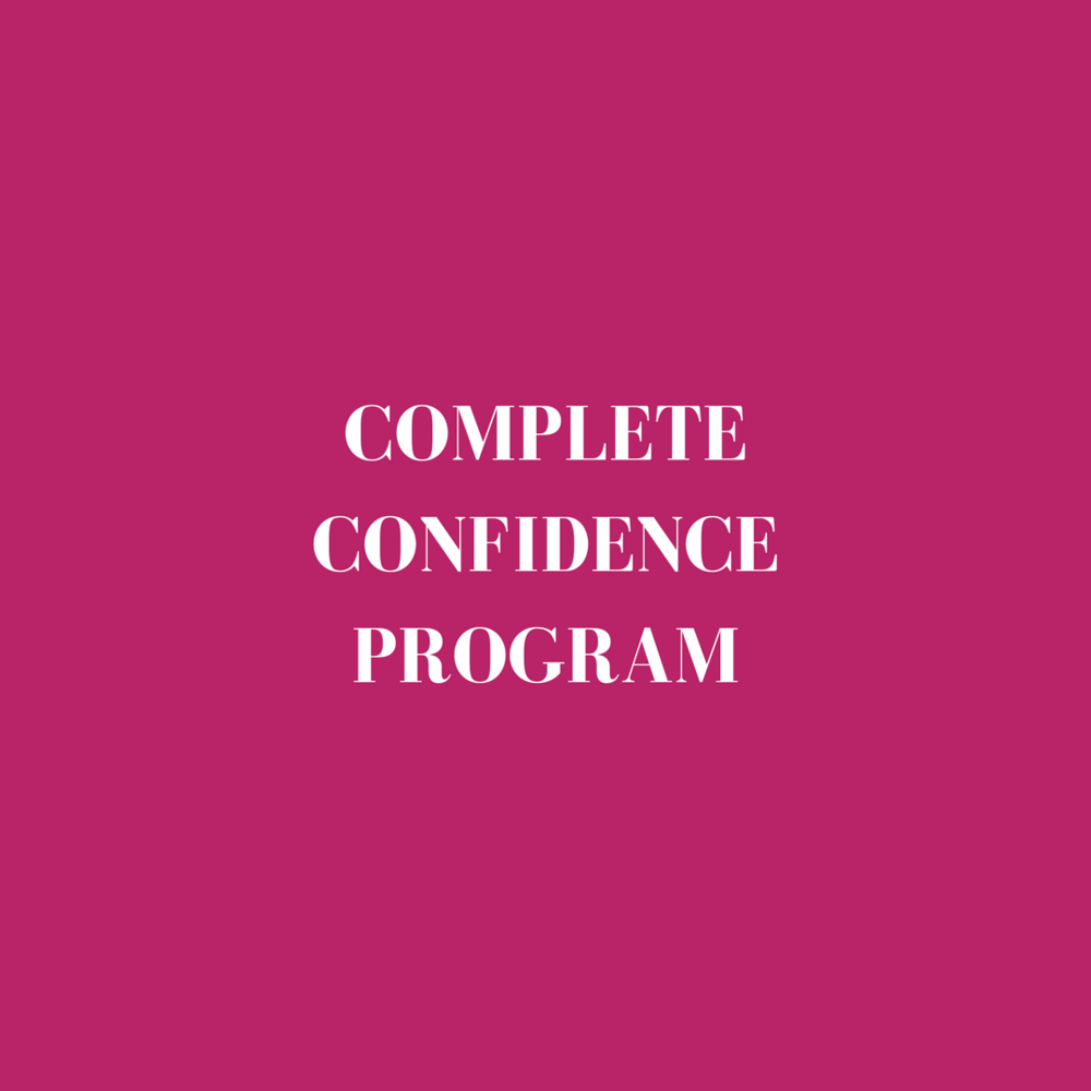 Confidence course online self esteem training program 2018 Jade Hicks