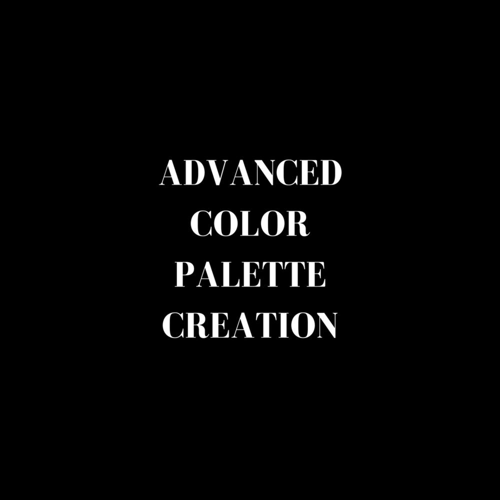 Advancwed color palette course mini program online video Jade Hicks 2018