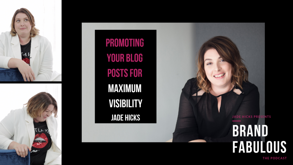 Promoting your blog posts for maximum visibility