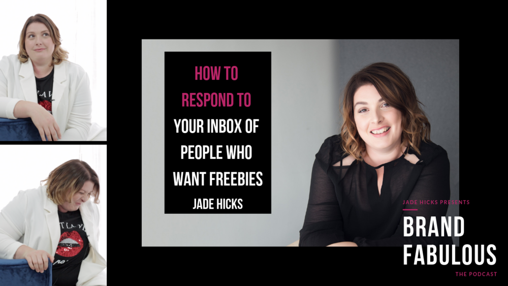 How to respond to your inbox of people who want freebies