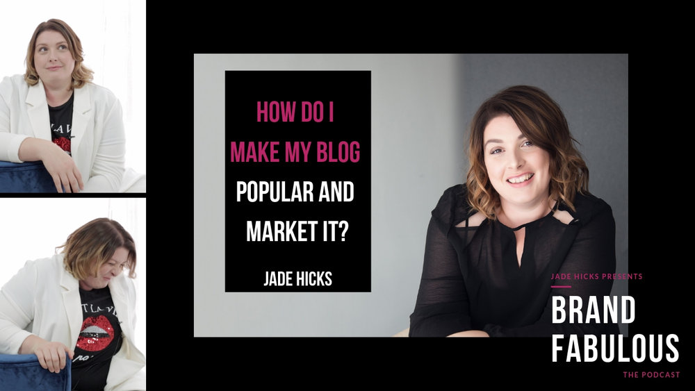 How do I make my blog popular and market it?