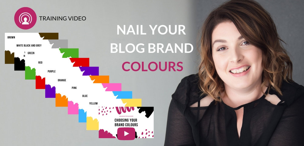 Colours for blog brand identity
