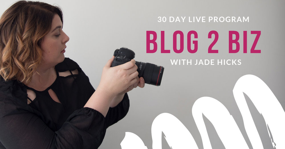 Blog to business live training
