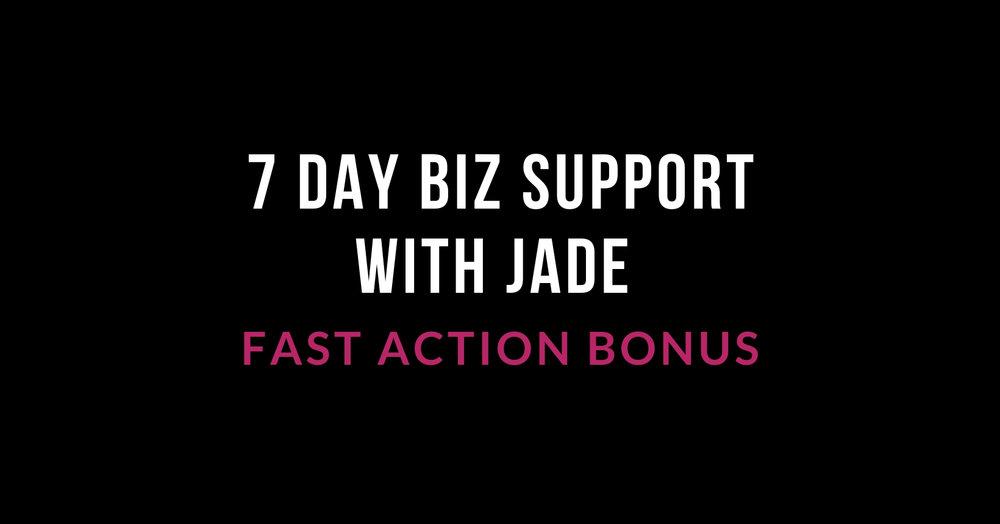 Fast action bonus