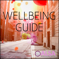Click  here  to access ALSA's  Wellbeing Guide  for more on law student mental health.