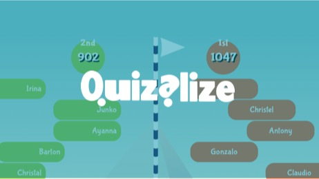 Quizalize lets you make fun quiz games on any curriculum topic, to play in class or as homework.