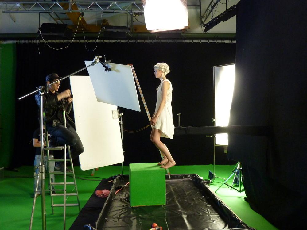 Filmfesttrailer VFX Dreh
