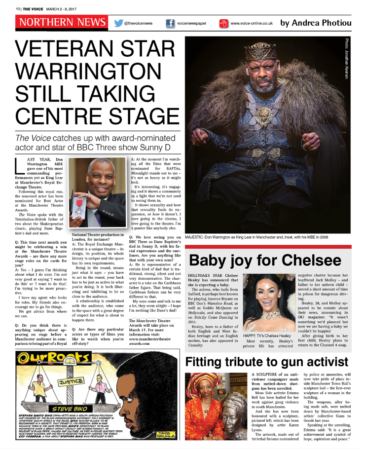 Northern News Don Warrington interview.PNG