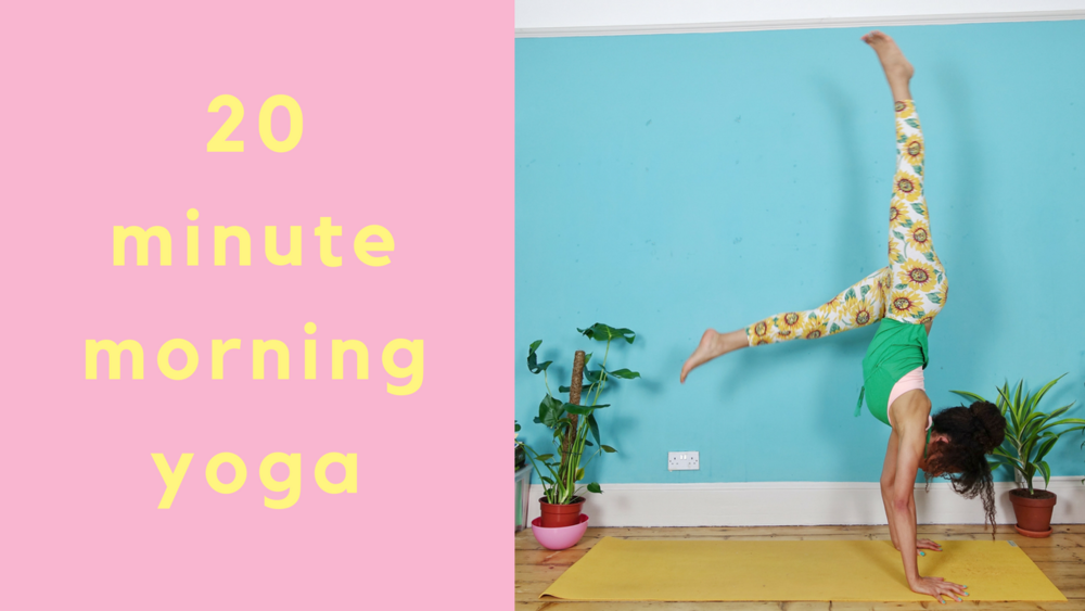 20 minute morning yoga with dionne youtube