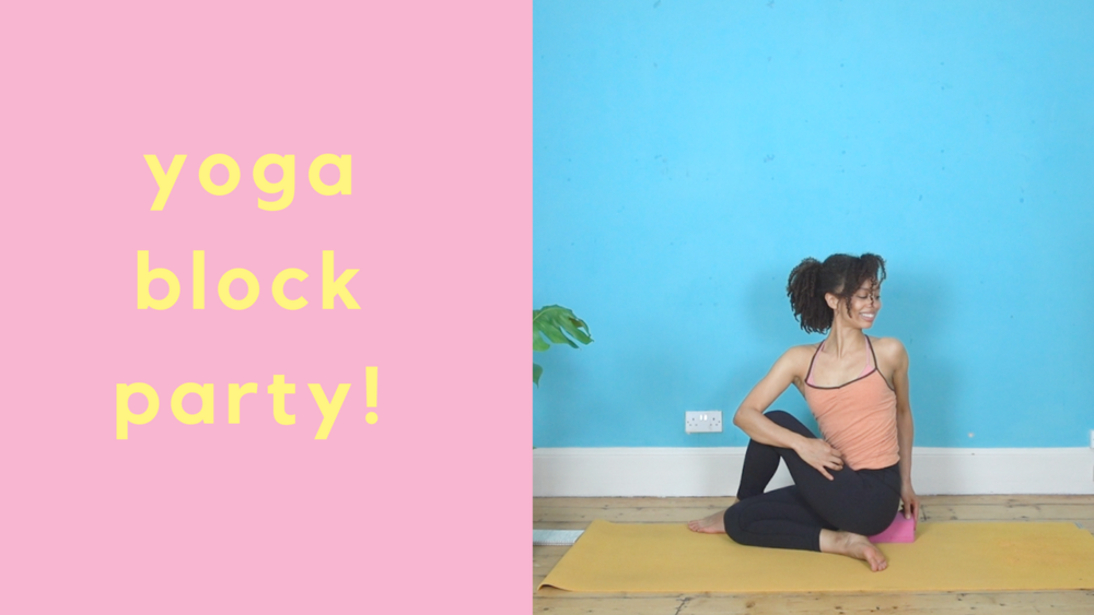 Yoga block party with dionne youtube