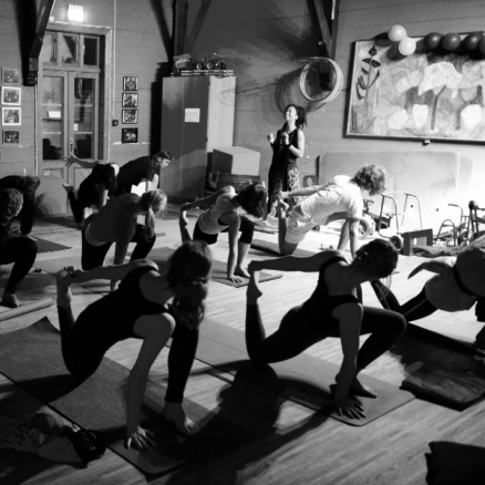 Yoga @ Herosalen, Bergen (Norway) - Long running community Yoga project in Norway's oldest kindergarten after hours.