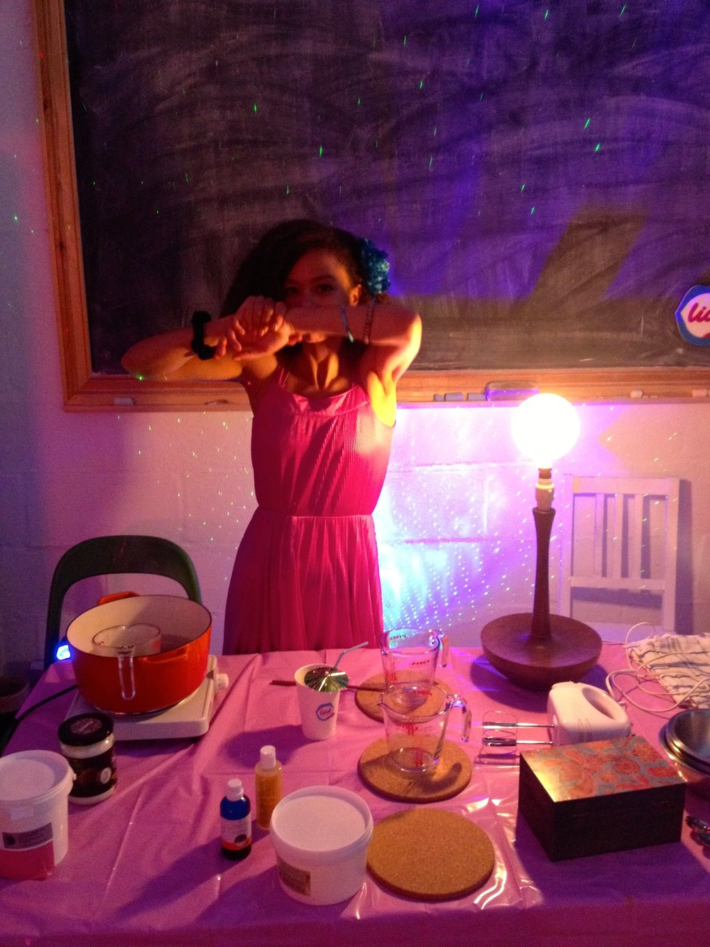 dionne.space Yoga with Dionne Potion Making workshop