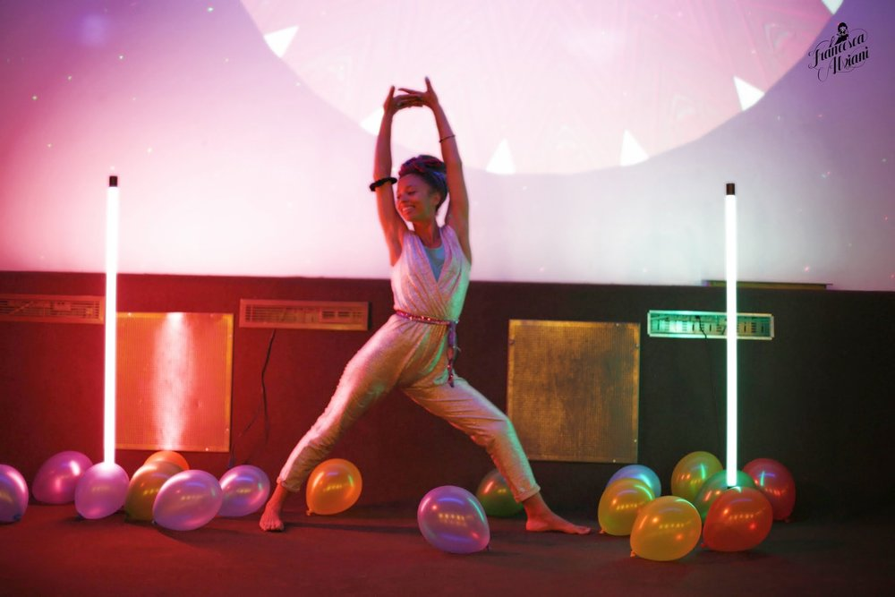 Yoga Disco - Music + Movement + Lights