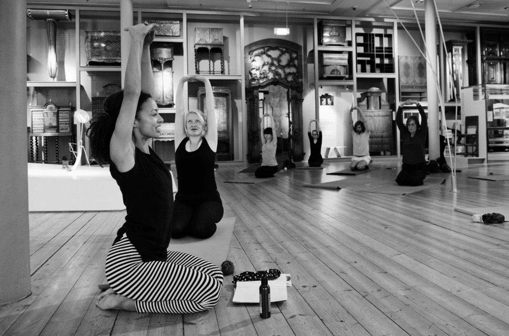dionne yoga KODE Bergen