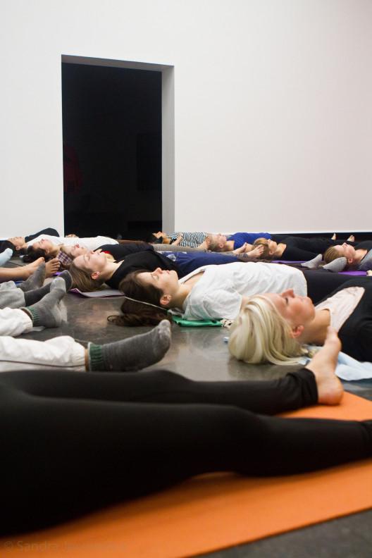 dionne yoga Bergen Kunsthall