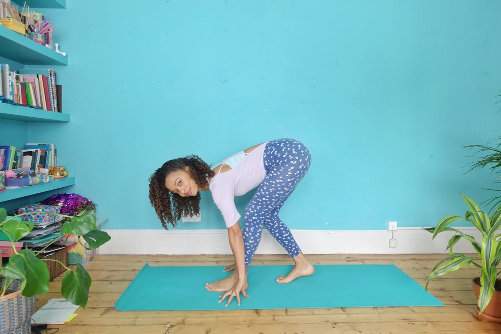 dionne.space yoga for anxiety and stress