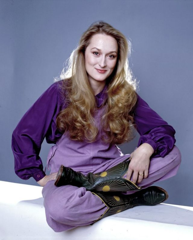 Meryl, a colour blocking mood!