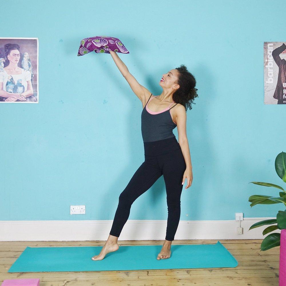 dionne yoga videos