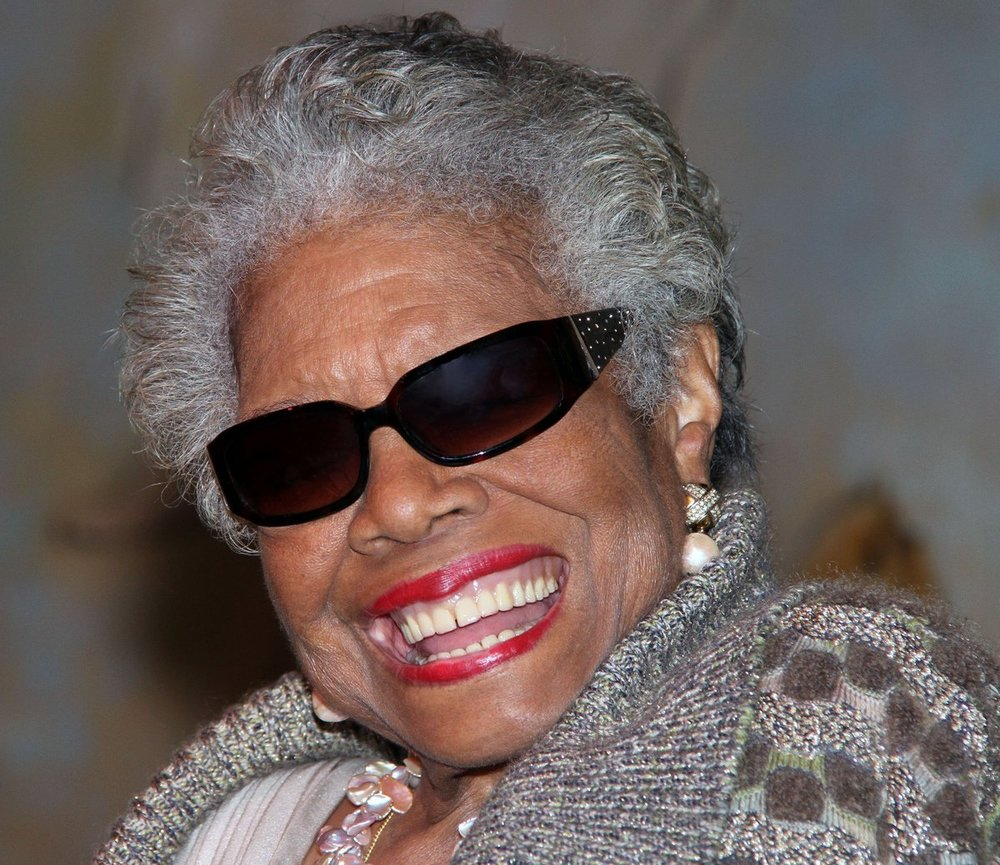 Ms Angelou    to you!
