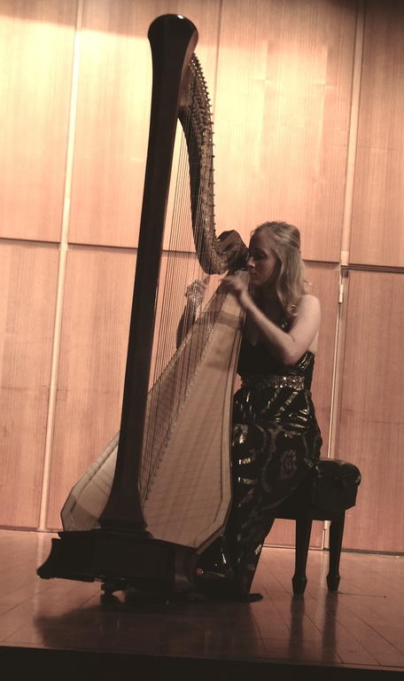 Master's Harp Recital at Temple University