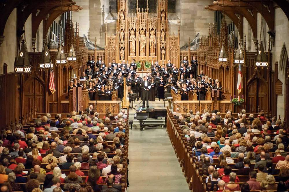 A Feast of Carols with the transcendent Mendelssohn Club
