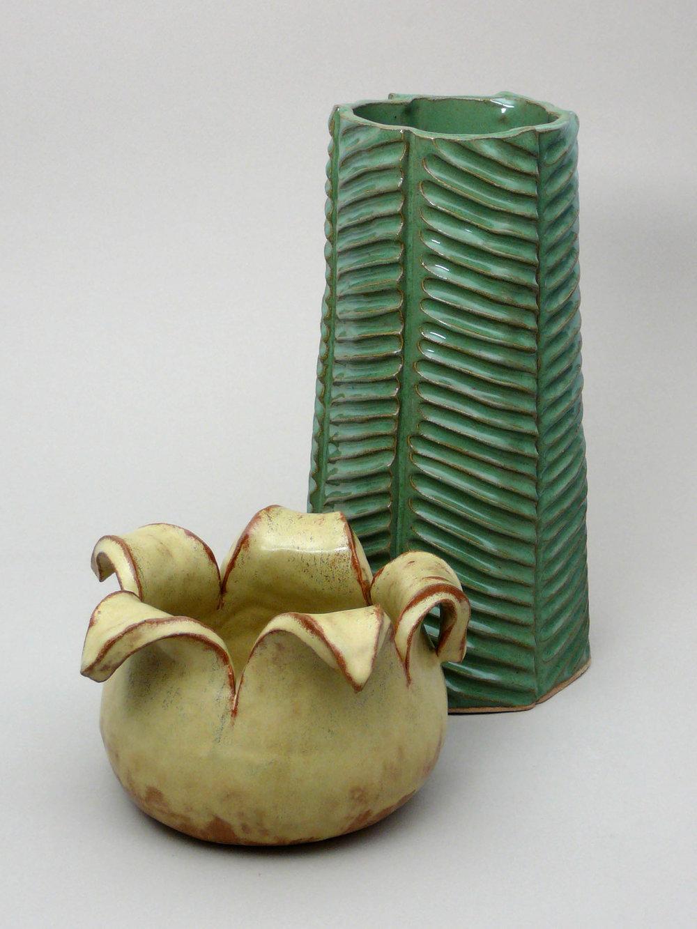 Palm Vase and Pod Vase #9