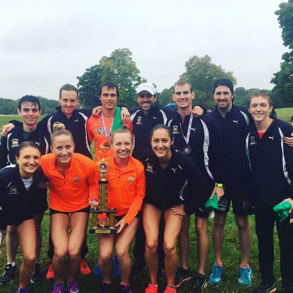 Keystone Track Club at USATF Mid-Atlantic Regional Championship - Belmont Plateau Park, October 2016.