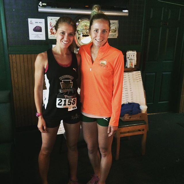 1-2 at the SRRC 2-miler! #ktcelite #pumarunning