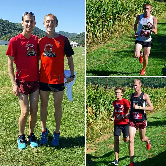 Yesterday at the LHU Invitational Dylan Mountain won 1st place with a time of 24:46 and Zach Mains took 6th with a time of 25:53! Great job guys! #ktcelite #pumarunning #keystonetrackclub #xcseason