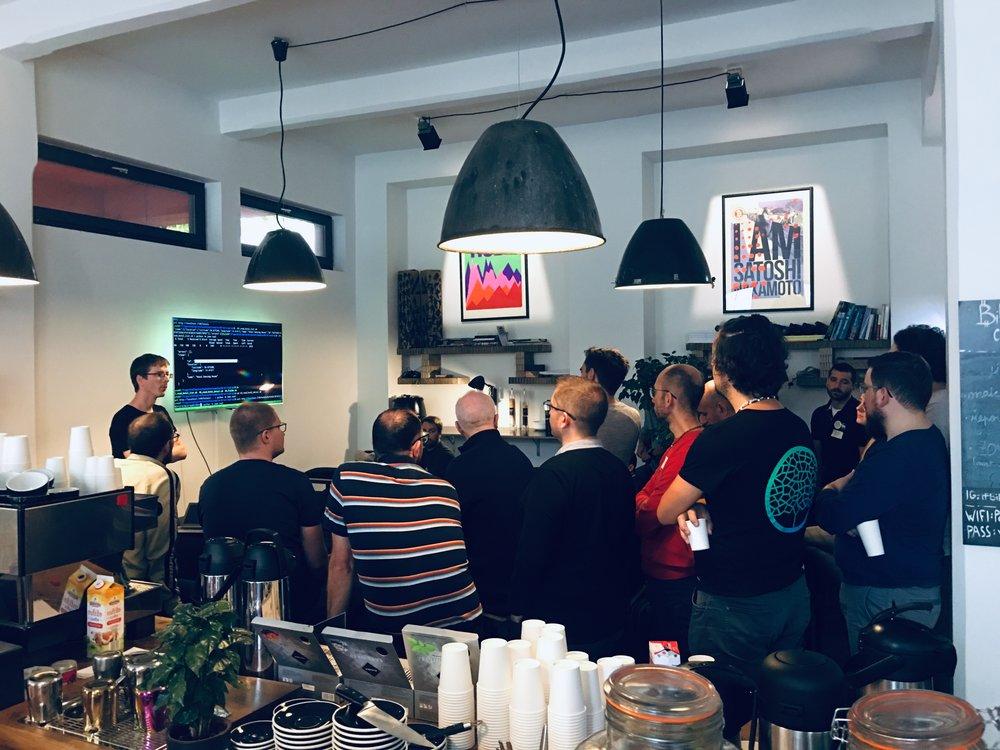 Winding Tree   travel industry hackathon at Paralelni Polis, Prague, pre DevCon