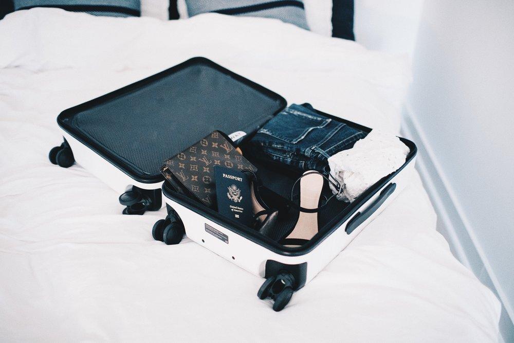 traveling in croatia packing bags.jpg