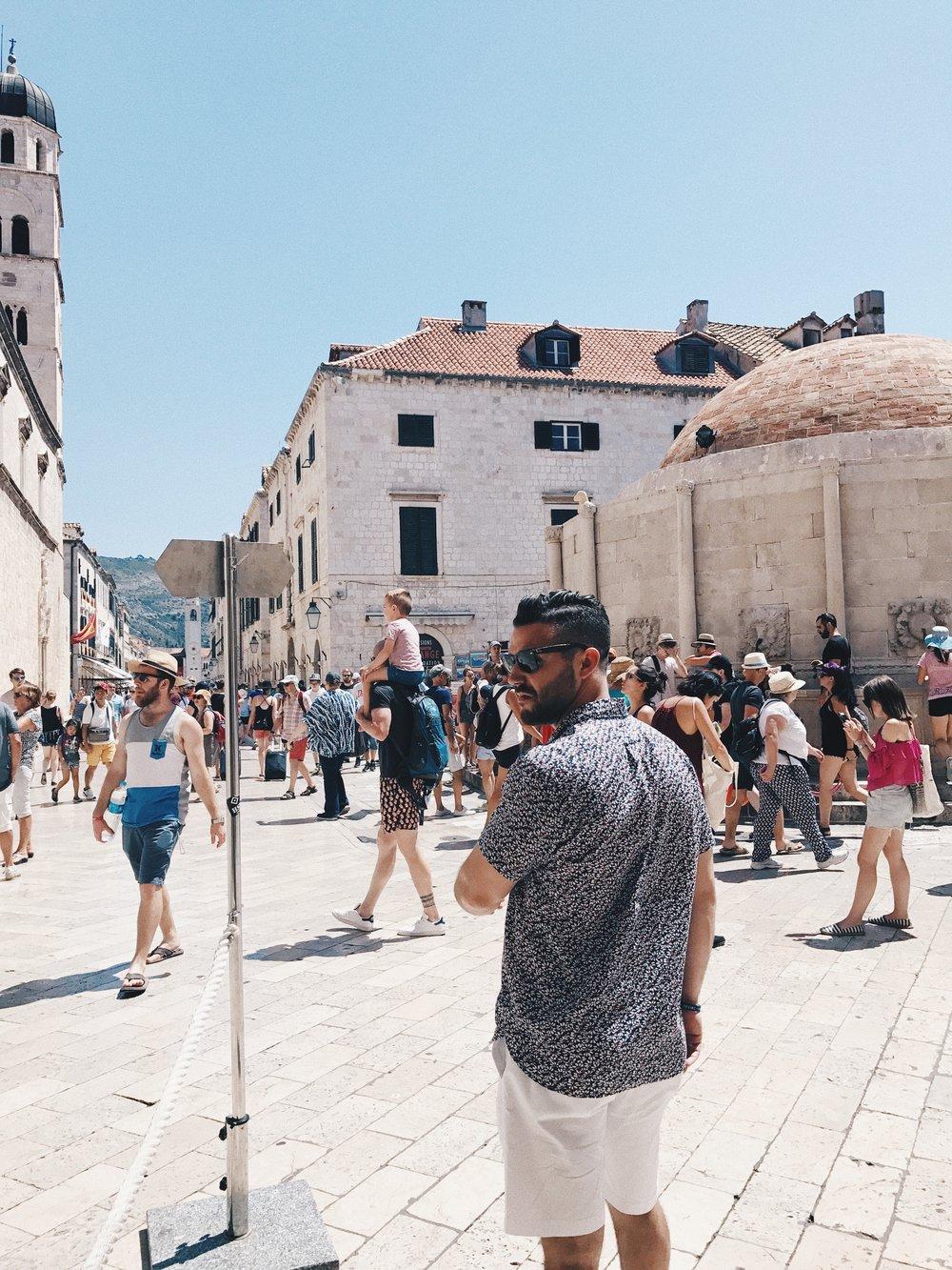 traveling in croatia walking in dubrovnik.jpg