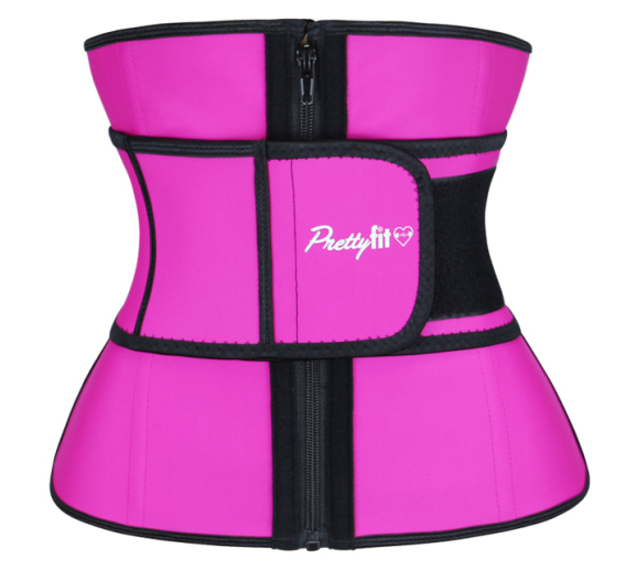 3fc68b9c8e20b Pretty Fit Waist Trainer (Pink) — Pretty Fit Performance