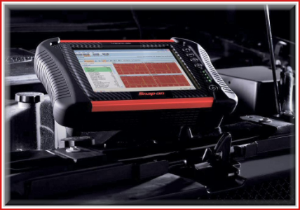 Snap-on VERUS diagnostic console. State-of-the-art in diagnostics.