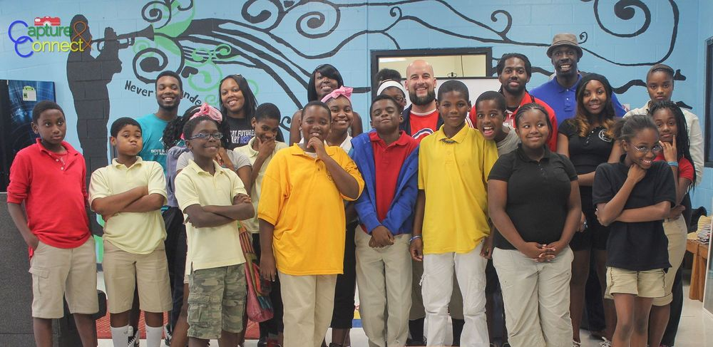 Capture & Connect Students at the Joseph P Whitehead Boys & Girls Club in Southwest Atlanta