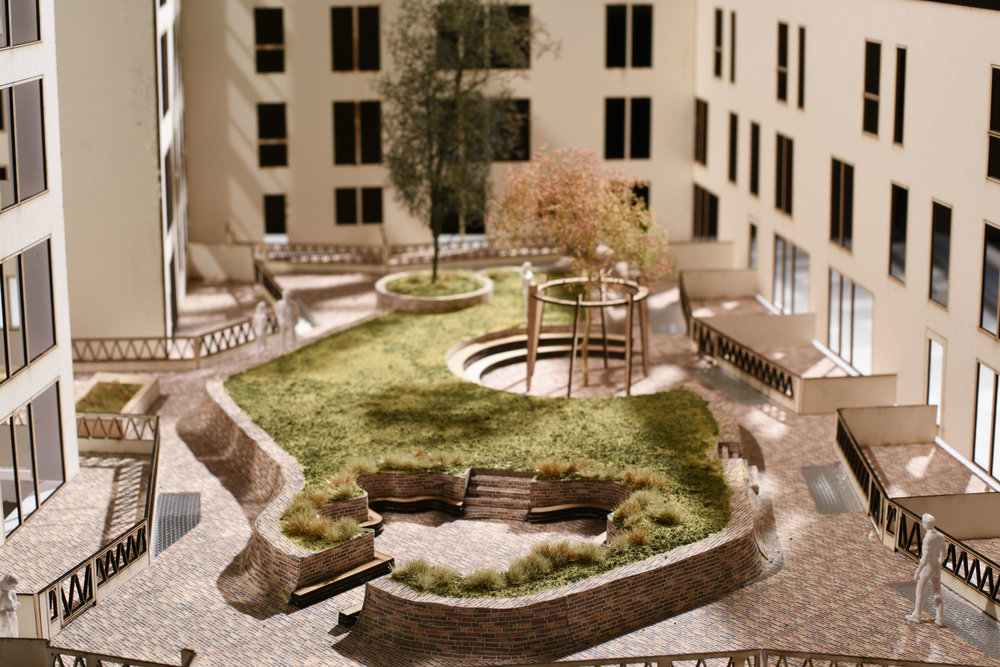 Colville Phase 2 - Building F Courtyard