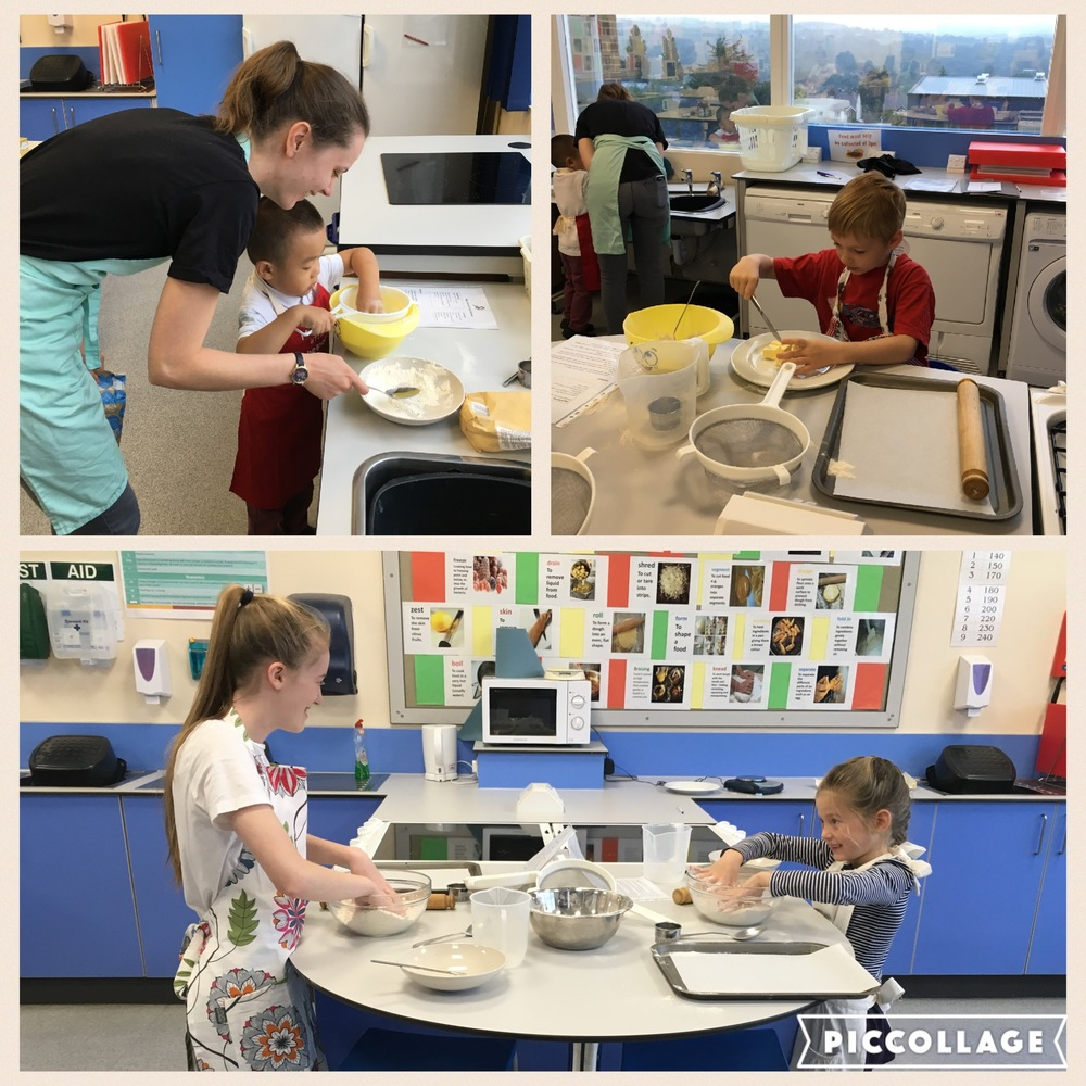Stir Krazy Kids - getting started on the scones