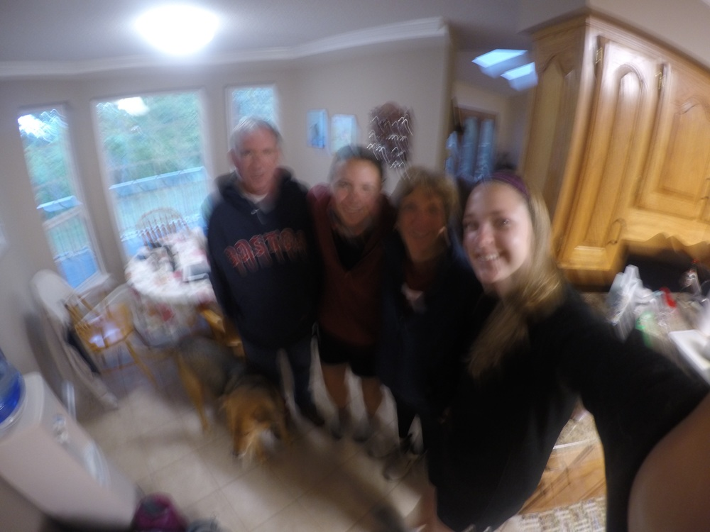 Blurry picture but had to include it- so much love for this family!
