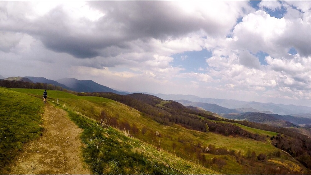 Max Patch shortly before an insane thunderstorm