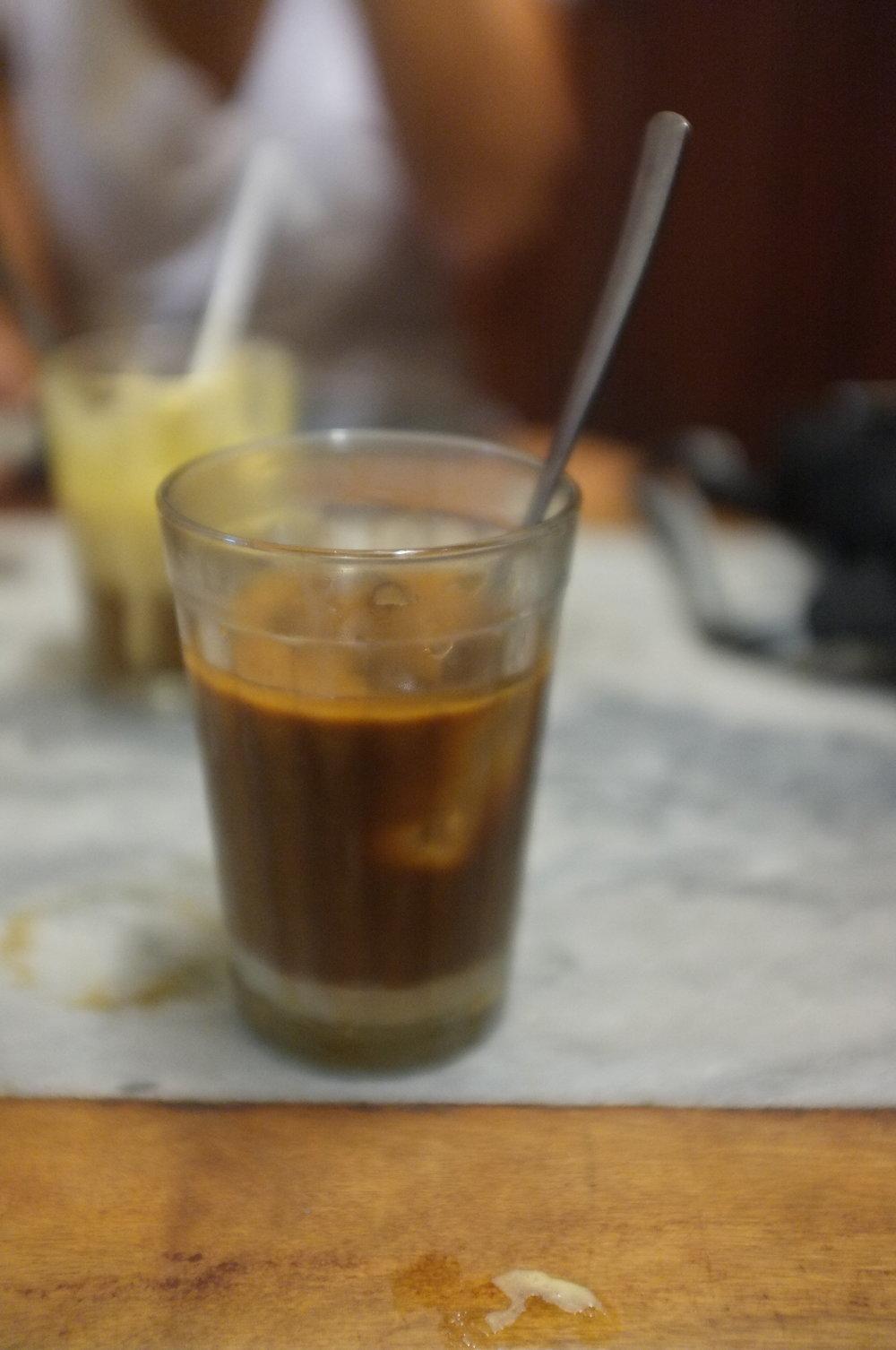 Vietnamese coffee is amazing