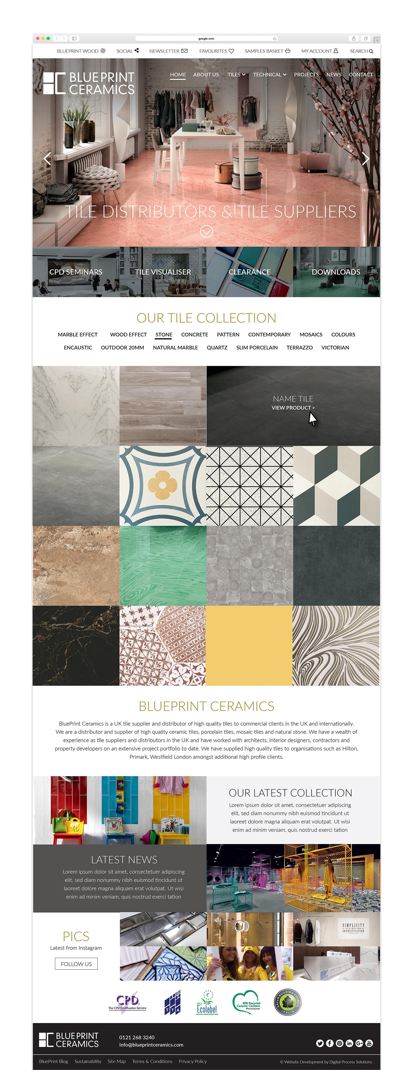 Blueprint ceramics home prev next malvernweather Image collections