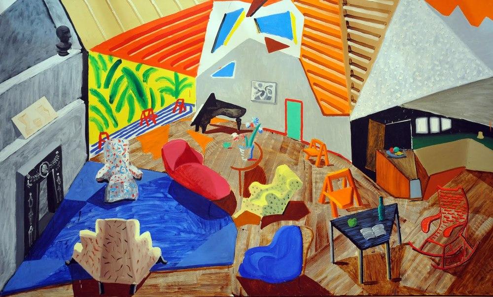 Large Interior, Los Angeles (1988)