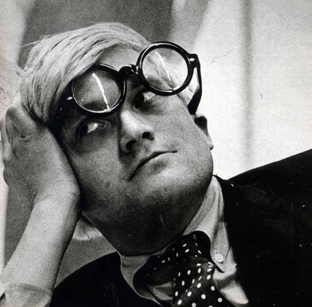 Hockney in Liverpool, 1967