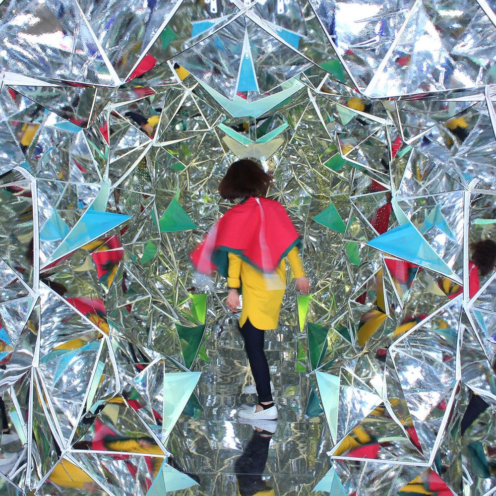 From the exhibition Wink Space, by Masakazu Shirane and Saya Miyazaki