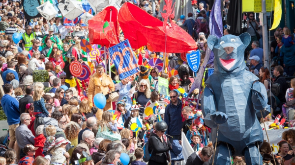 Children's Parade (pic by Brighton Festival)