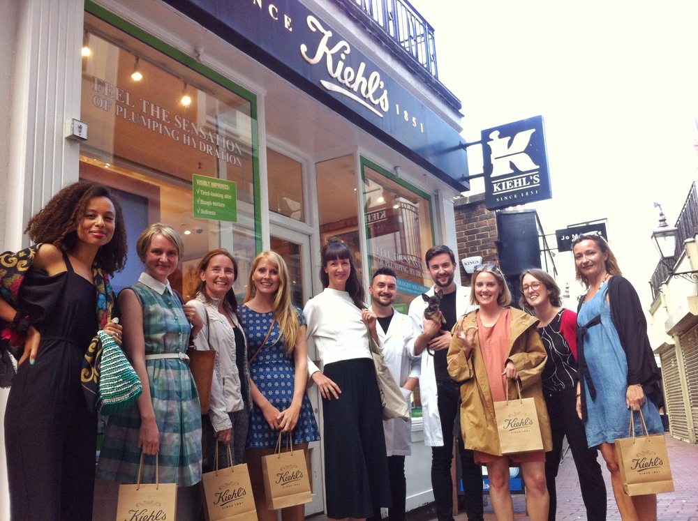 Skin care is self care: After our pamper party at Kiehl's with Russ and Adam (and Prince the dog!)